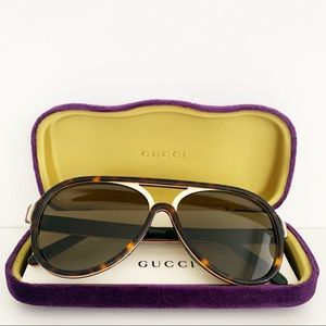 🌸 GUCCI Sunglasses Round Vintage Look Glasses NWT